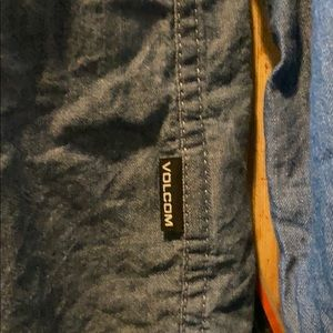 Volcom Shirts & Tops - Volcom boys chambray denim shirt 10y